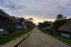 High street w Santa Clotilde