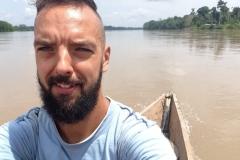 Najmniejszy kajak na rzece